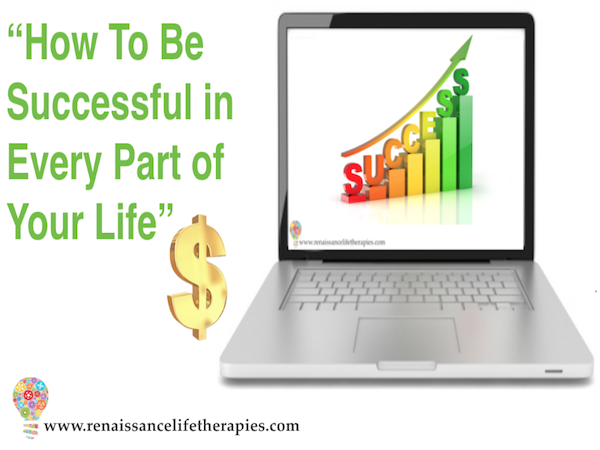 How to be successful in every area of your life course catalogue