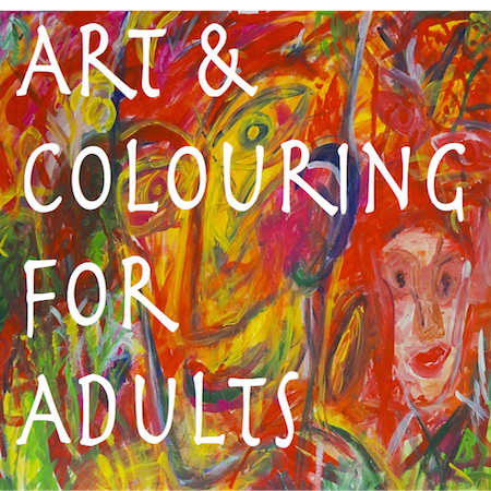product image for art and colouring for adults course