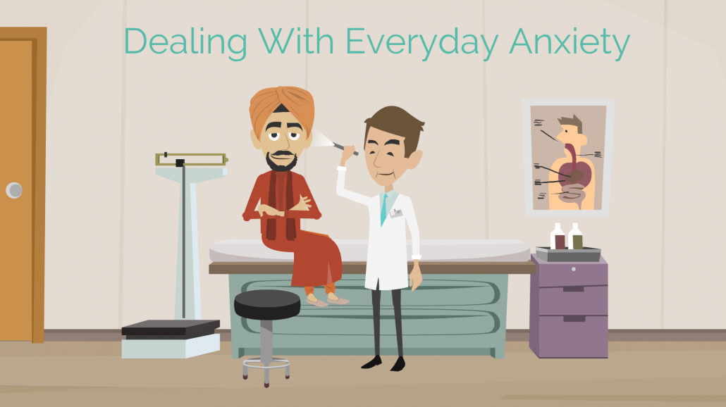 Dealing with everyday anxiety