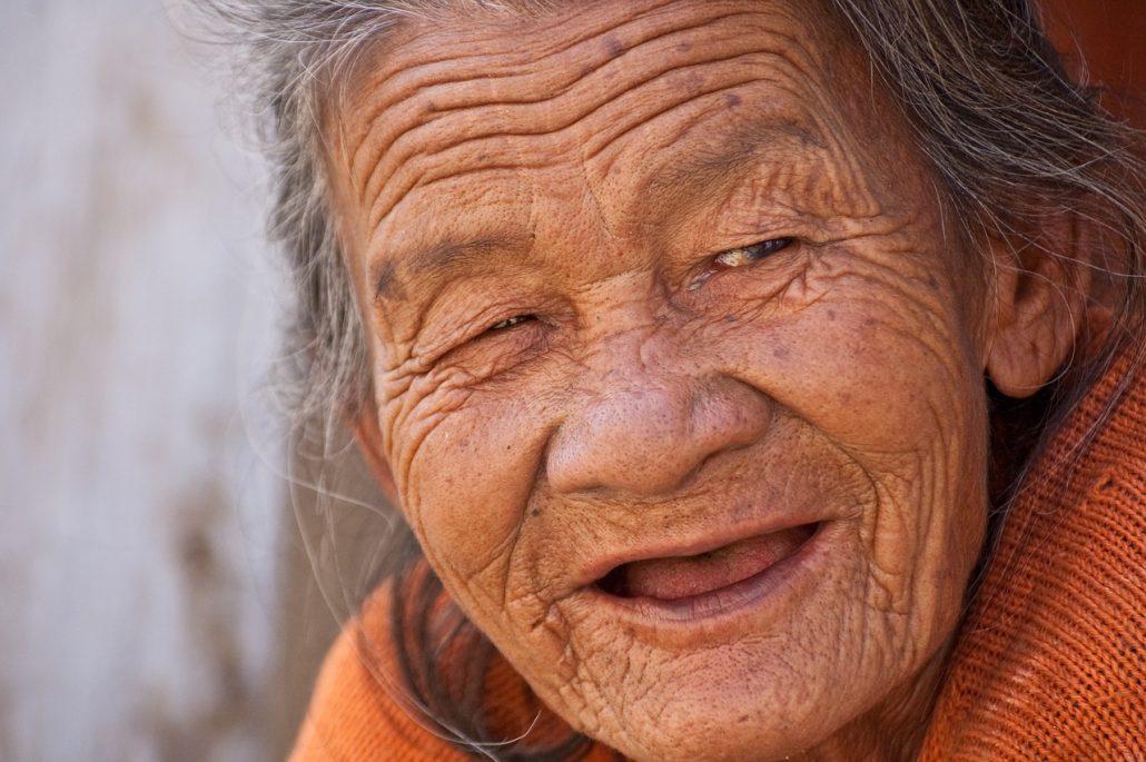 Keep smiling image for blog of same name