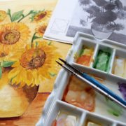 Healing powers of art and colours